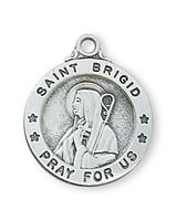 """(L700BDG) SS SML ST. BRIGID 18"""" CH & BX"""