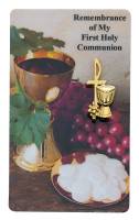 (PCH98) GP PEWTER COMMUNION PIN WITH