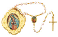 (760-122) GOLD GUADALUPE BOX & PINK RSRY