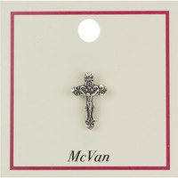 (PIN-CFX) CRUCIFIX LAPEL PIN, CARDED