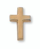 (PIN-CRSG) GOLD CROSS LAPEL PIN
