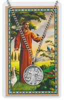 (PSD2514FR) ST FRANCIS PRAYER CARD SET