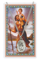 (PSD336CH) ST CHRISTOPHER PRAYER CARD SET