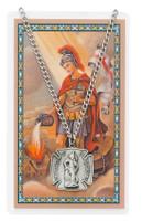 (PSD413) ST FLORIAN PRAYER CARD SET