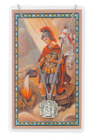 (PSD424) ST FLORIAN PRAYER CARD SET