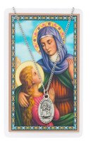 (PSD500AE) ST ANNE PRAYER CARD SET