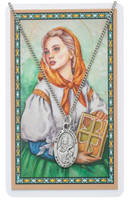 (PSD500DY) ST DYMPHNA PRAYER CARD SET