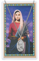 (PSD500LU) ST LUCY PRAYER CARD SET