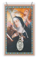 (PSD500RT) ST RITA PRAYER CARD SET