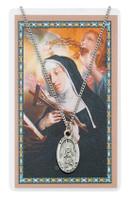 (PSD500RT) ST RITA PRAYER CARD SET