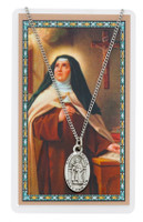 (PSD500TH) ST TERESA AVILA PRAYER CARDSET