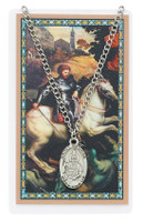 (PSD550GE) ST GEORGE PRAYER CARD SET