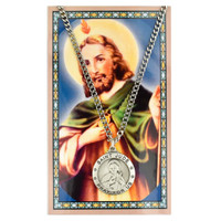 (PSD575JU) ST JUDE PRAYER CARD SET