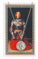 (PSD600JOA) ST JOAN OF ARC PRAYER CARD SET