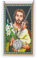 (PSD600JS) ST JOSEPH PRAYER CARD SET