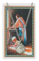(PSD600JW) ST JOSEPH WORKER PRAY CARD SET