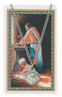 (PSD600JW) ST JOSEPH WORKER PRAY CARD SET