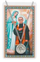 (PSD600MX) ST MAXIMILIAN PRAYER CARD SET