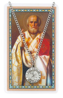 (PSD600NC) ST NICHOLAS PRAYER CARD SET