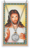 (PSD600SC) SACRED HEART PRAYER CARD SET