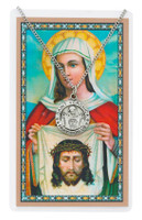 (PSD600VE) ST VERONICA PRAYER CARD SET
