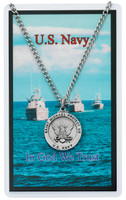 (PSD650NY) NAVY PRAYER CARD SET