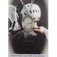 (PSD675LC) BOYS LACROSSE PRAYER CARD SET