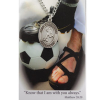 (PSD675SR) BOYS SOCCER PRAYER CARD SET