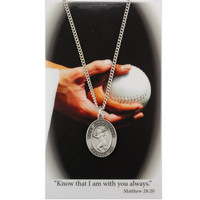(PSD676SB) GIRLS SOFTBALL PRAY CARD SET