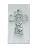 (PW5-W) GUARDIAN ANGEL CROSS GREY CARD
