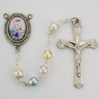 (R213DF) 7MM GUARDIAN ANGEL ROSARY