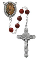 (R538DF) 7MM O.L. PERPETUAL HELP ROSARY