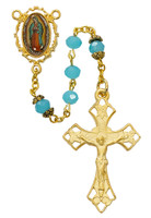 (R555HF) 6MM GP O.L GUADALUPE ROSARY