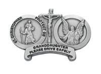 (VC-845) ST CHRIS GRANDDAUG  VISOR CLIP