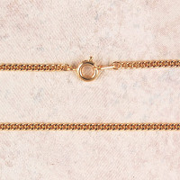 (P-24R) CHAIN, MED GOLD PLATED, 24""