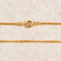 """(P-57) CHAIN, MED GOLD PLATED 18"""""""