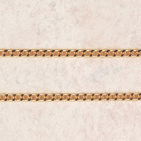 """(P-6) CHAIN, HEAVY GOLD PLATED, 24"""""""