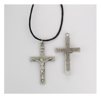 (D8080LC) PEW LORD'S CRUCIFIX ADJUSTABLE