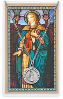 (PSD600MN) ST MONICA PRAYER CARD SET
