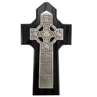 "(80-171) 6 1/4"" BLACK CELTIC CROSS, BX"