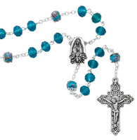 (CH118) O.L. GUADALUPE CHAPLET, CARDED