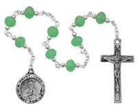 (CH120) ST. JUDE CHAPLET, CARDED