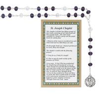 (CH124) ST. JOSEPH CHAPLET, CARDED