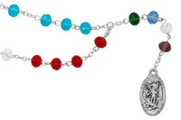 (CH131) ST. MICHAEL CHAPLET, CARDED