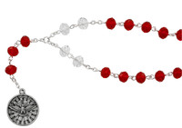 (CH133) HOLY SPIRIT CHAPLET, CARDED