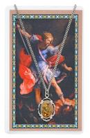 (PSD735) ST MICHAEL PRAYER CARD SET