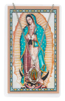 (PSD738) O.L. GUADALUPE CARD & MEDAL