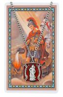 (PSD763) ST FLORIAN PRAYER CARD SET