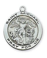 "(L515MK-24) SS ST. MICHAEL 24"" CH & BX"