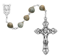 (157C) JOB'S TEARS ROSARY